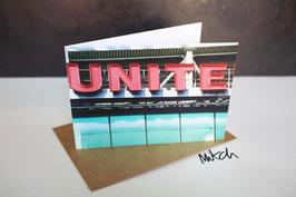 Unite Blank Inside Greeting Card