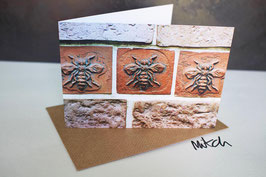 Palace Bees Blank Inside Greeting Card