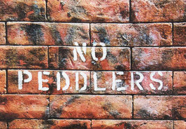 No Peddlers Canvas Print