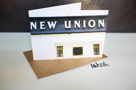 New Union Congratulations Greeting Card