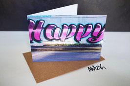 Happy Blank Inside Greeting Card