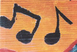 Musical Notes Canvas