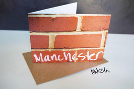 Manchester Blank Inside Greeting Card
