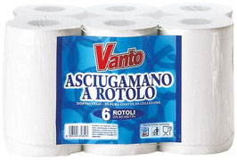 VANTO ASCIUGAMANO PER 6 ROTOLI