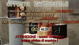OFFERTA MACCHINA + 150 CIALDE