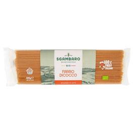 Sgambaro Bio Farro Dicocco Spaghetti N° 5 500 g