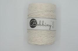 Natural Bobbiny macramé garen 5 mm