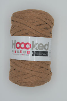 Caramel Brown Hoooked Ribbon XL