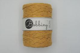 Mustard Bobbiny macramé garen 5 mm
