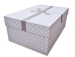 Brautkleidbox - Silver Shinning