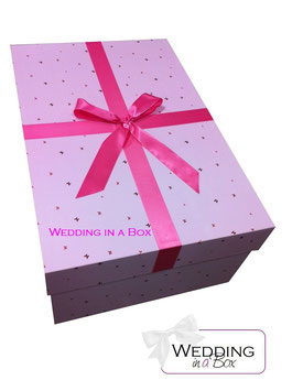 Brautkleidbox - Pink Butterfly