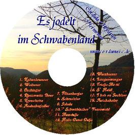 CD Es jodelt im Schwabenland