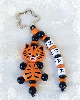 """Namensanhänger """"Tiggy, der kleine Tiger"""""""