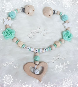 "Neu!!! Kinderwagenkette "" My little Flower"""