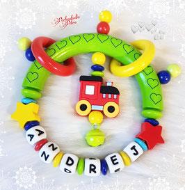 "Baby Beiss & Spielgreifling ""kleine Lok"""