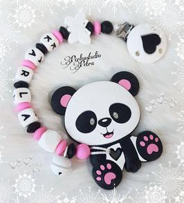 """Beißkette Silikon """"Mein süsses Pandamäderl"""""""