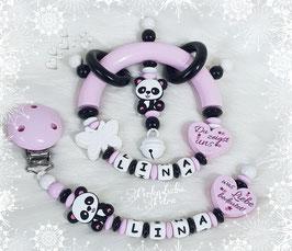 "Baby Set  ""Pandagirl, du zeigst uns, was Liebe bedeutet"""