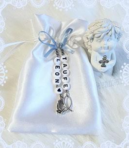 """Rosenkranz """"Geschenksäcken"""" in passender Farbe zum Rosenkranz"""