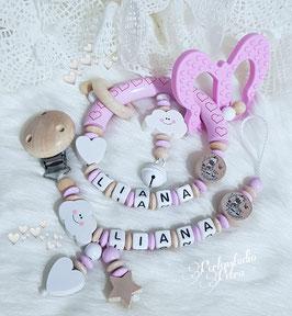 "Baby Set  ""Girafferls Schmetterling"""