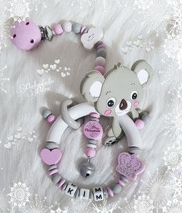 """Baby Beiss & Spielgreifling """"Koalas Krönchen"""" mit Silikon Beisstierchen"""
