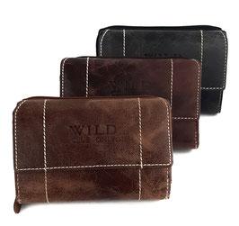 Leren portemonnee van WILD club only klein