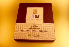 TOLITA GIFT BOX , 70% ARRIBA-NACIONAL EDELKAKAO, ECUADOR