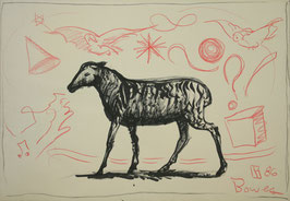 Artwork / Original: Bowes (David Bowes - o.T. Sheep) 1986.