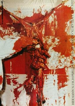 Poster (Nitsch - Hermann Nitsch - Pabellon de las Artes Expo Sevilla) 1992.