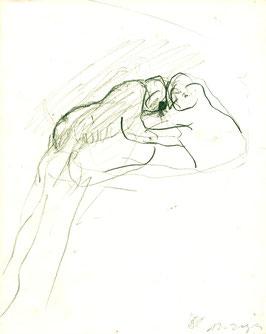 Siegfried Anzinger - Zeichnung, Malerei, Skulptur( Kunst- Buch / art book 1986).