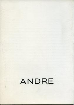 Carl Andre - Leporello zur Ausstellung im Forum für Aktuelle Kunst (Leporello 1973).