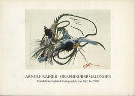 Rainer (Arnulf Rainer - Graphikübermalungen) 1981.