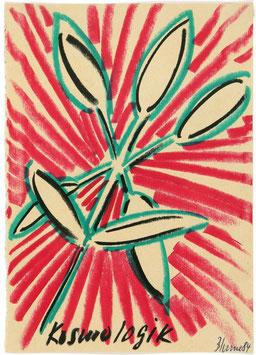 Artwork / Original: Blume (Bernhard Blume - Kosmologik) 1984