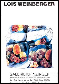 Poster (Weinberger - Lois Weinberger) 1989.