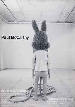 Paul McCarthy - Spaghetti Man, Poster 1993.