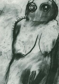 Cahn ( Miriam Cahn - Morgen Grauen) 1981.