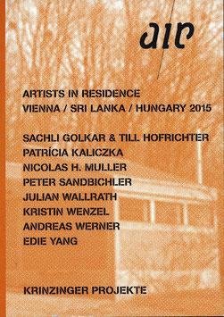 air 2015 (Sandbichler, Kaliczka, Golkar & Hofrichter, Wallrath, Wenzel, Werner, Yang ) 2016.