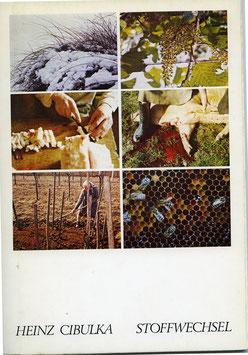 Buch/Book: Cibulka (Heinz Cibulka - Stoffwechsel) ca 1976.