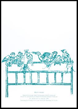 Poster (Walde, Martin Walde) 1983.
