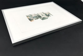 Bernd Oppl - Flesh and Stone / Skyline (Original / artwork 2018).