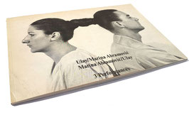 Marina Abramovic / Ulay. 3 Performances. (buch / art book 1978).
