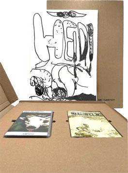 "SET: Paul McCarthy and Mike Kelley ""Heidi"" (Editions-Set / art print and muliple set) 1992."