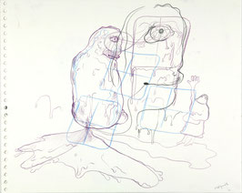 Bjarne Melgaard - o.T. (Kunst / Original artwork 2007).