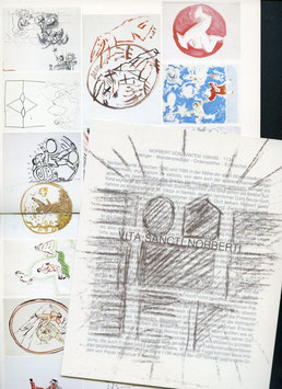 Walde (Katalog / Catalogue: Martin Walde - Arbeiten zur Vita Sancti Norberti) 1984.