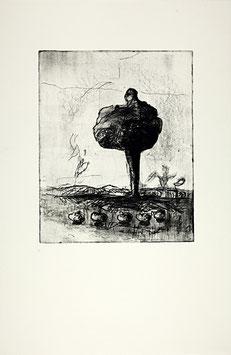 "Edition Mosbacher (Alois Mosbacher - o.T. ""Aug um Aug Edition"") 1986."