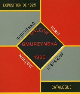 Exposition de 1925 - Moscow / Paris. (Buch / Book / Kniga) Alexander Rodchenko / Varvara Fedorovna Stepanova. 1993.