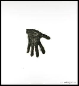 Edition: Dokoupil (Jiri Georg Dokoupil - Hand) 1993.