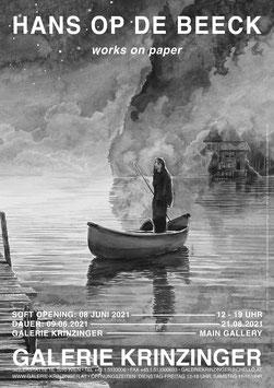 Hans Op de Beeck - works on paper (Plakat / art poster 2021).