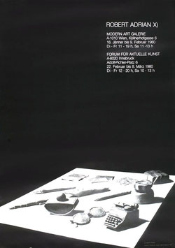 Poster (Adrian - Robert Adrian) 1987.