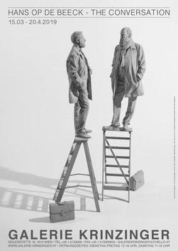 Hans Op de Beeck - Conversation, Poster 2019.