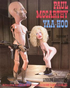 Poster (McCarthy - Paul McCarthy - Yaa - Hoo) 1996.
